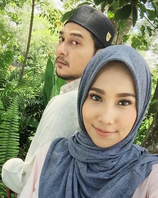 watak utama… Fezrul Khan dan Dayana Roza