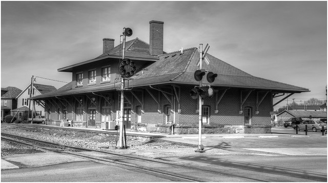 Railroad Station built by BR&P Railroad in 1894 @ DuBois, PA