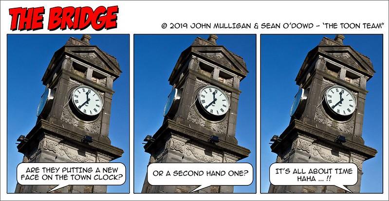 The Toon Team - Clock Face
