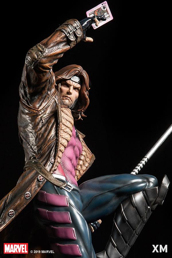 吃我的爆炸牌啦!! XM Studios Premium Collectibles 系列 Marvel【金牌手】Gambit 1/4 比例全身雕像作品