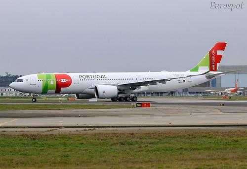 F-WWKJ Airbus A330 Neo Air Portugal   by @Eurospot