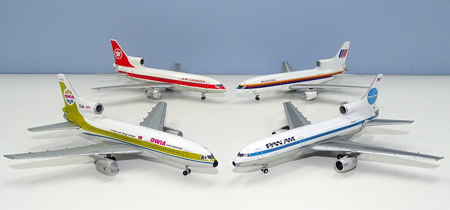 Pre-2019 Lockheed Tristar 500 Moulds in 1:400 Scale