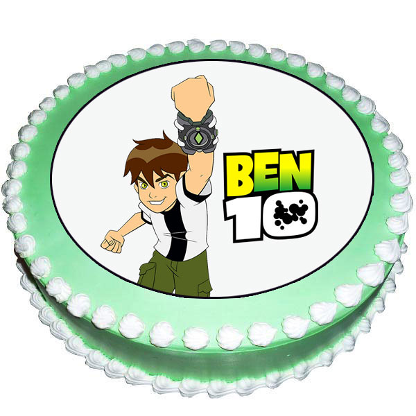 powerful-ben-10-photo-cake