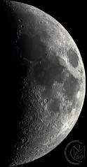 39.4% Waxing Crescent Moon - 38 Panel Mosaic [2019.04.11]