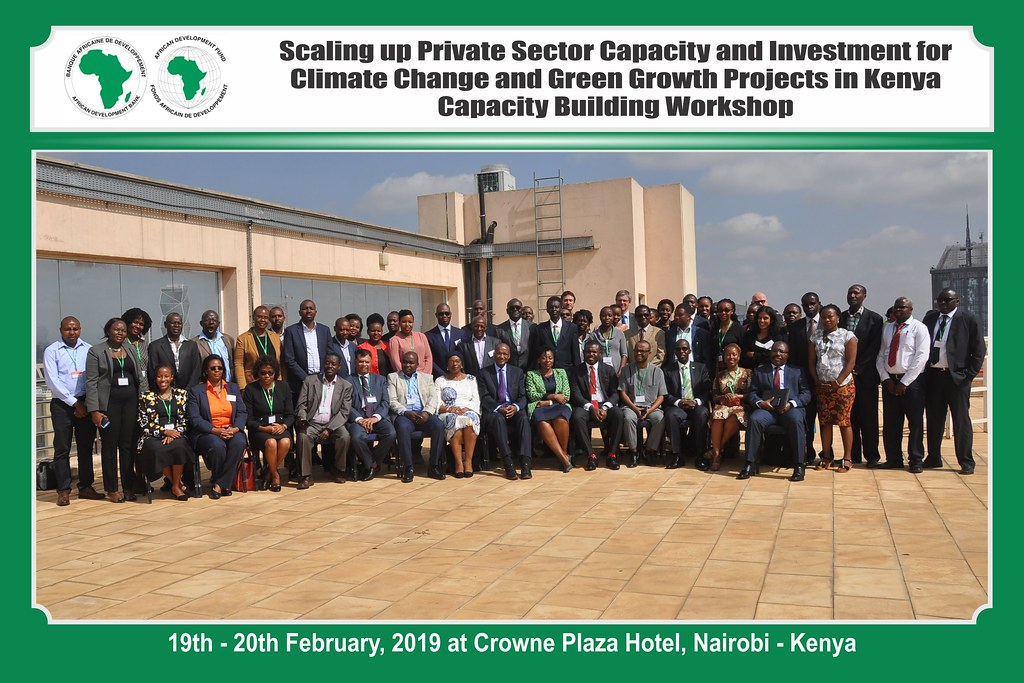 Scaling up Private Sector Capacity and Investment for Climate Change and Green Growth Projects in Kenya Capacity Building Workshop.
