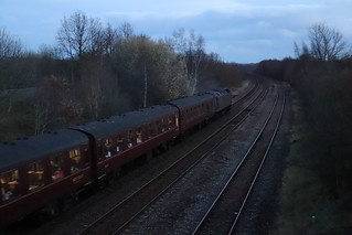 York to Ealing Broadway Railtour return leg