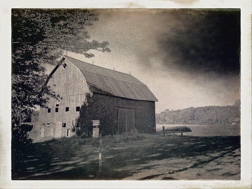 Barn outside Hamburg, New York | by dschirf