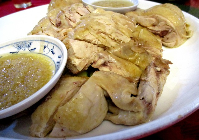 New Capital steamed chicken