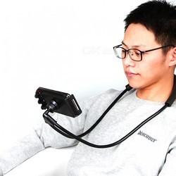 flexibele telefoonhouder in bed