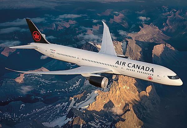 Air Canada nueva librea 2017 (Air Canada)
