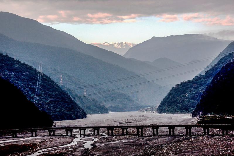 南湖群山(From 台9線155K)