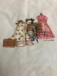 Beloved Rose Of Sharon is Completely Finished - Designer - Paula Vaughan - Wednesday April 10, 2019