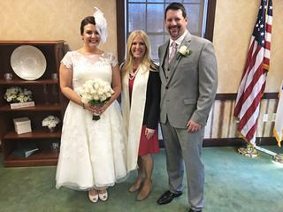 Patricia and David's Wedding   by Clerk Christine Giordano Hanlon