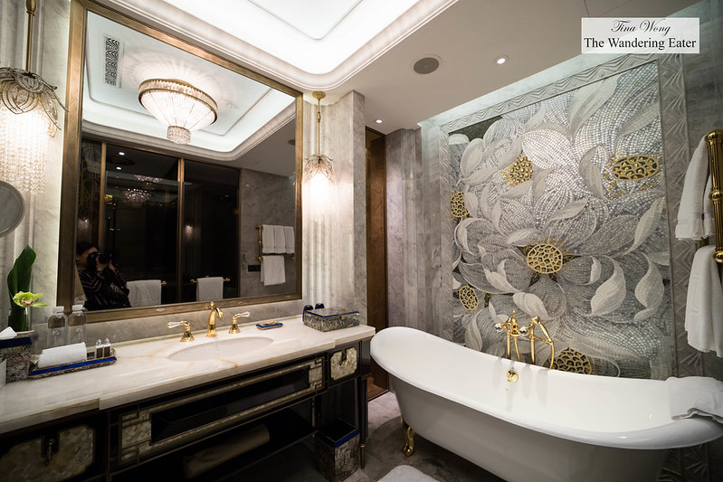 Huge lavish bathroom