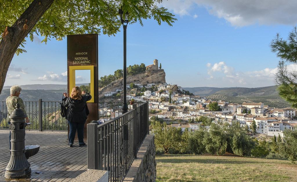 Montefrío-(Granada) Mirador National Geographic