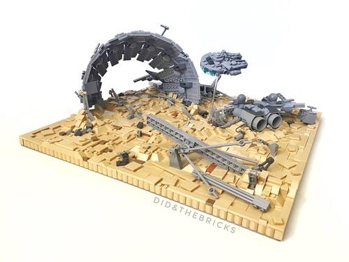Millennium Falcon Iconic scene #9