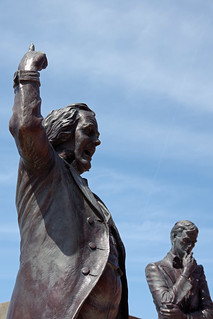 Stephen Douglas and Abraham Lincoln | by RWKLOSE1