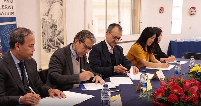 西班牙加泰罗尼亚大区首家孔子课堂成立