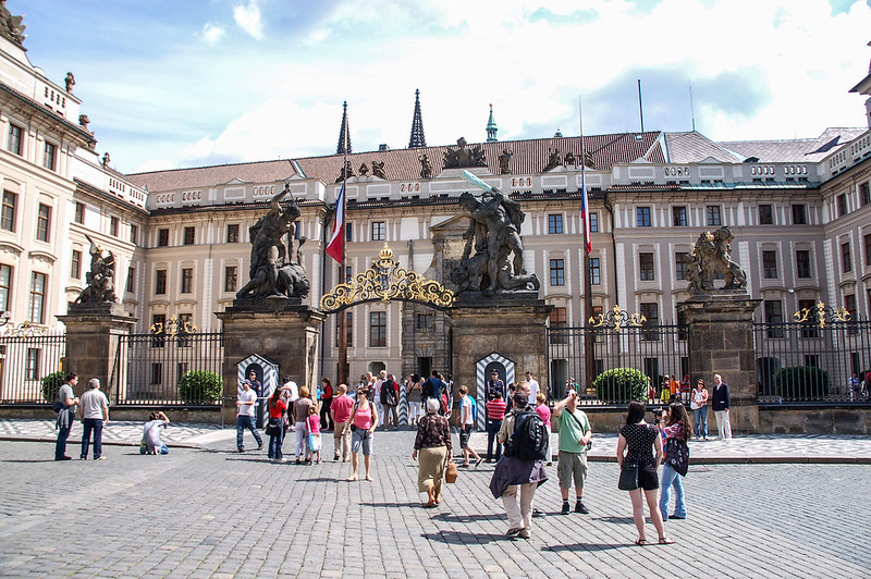 Prague Castle Entrance 3