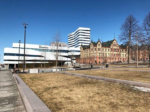 Gammalt möter nytt i Umeå | by Granding