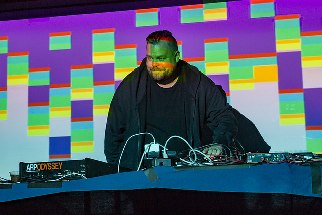 Com Truise @ Union Stage, Washington DC, 04/12/2019