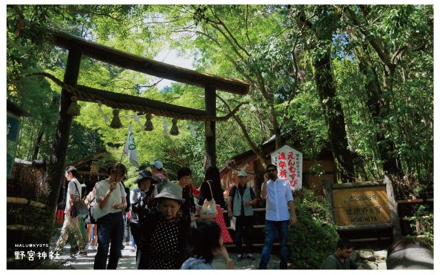 嵐山野宮神社-1