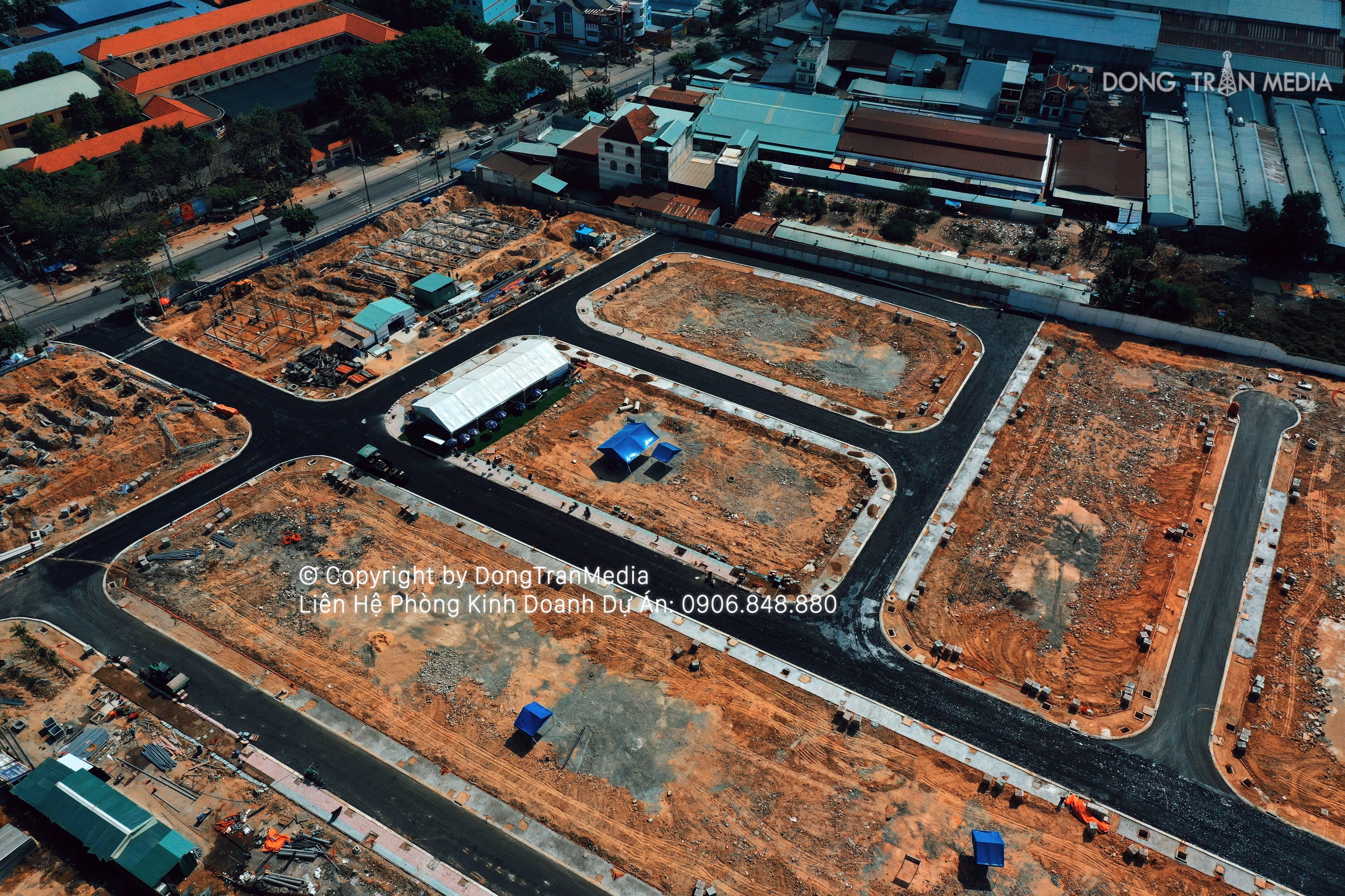 Tien do du an Loc Phat Residence