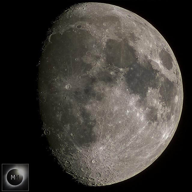 80% Waxing Gibbous Moon 18:10GMT 15/02/19