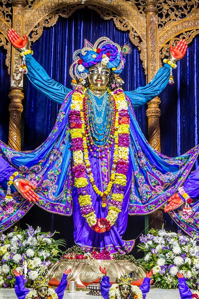 ISKCON Mayapur Deity Darshan 17 Feb 2019 (13) | ISKCON desire tree