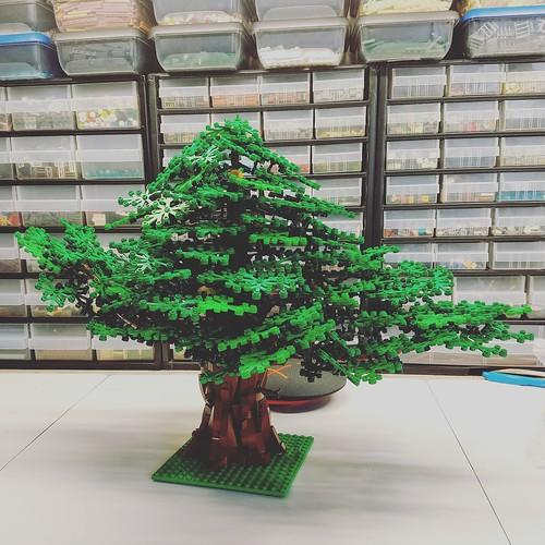 Ancient Lego tree