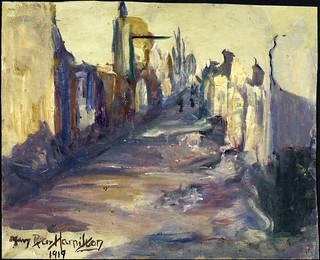Street in Monchy-le-Preux / Une rue de Monchy-le-Preux