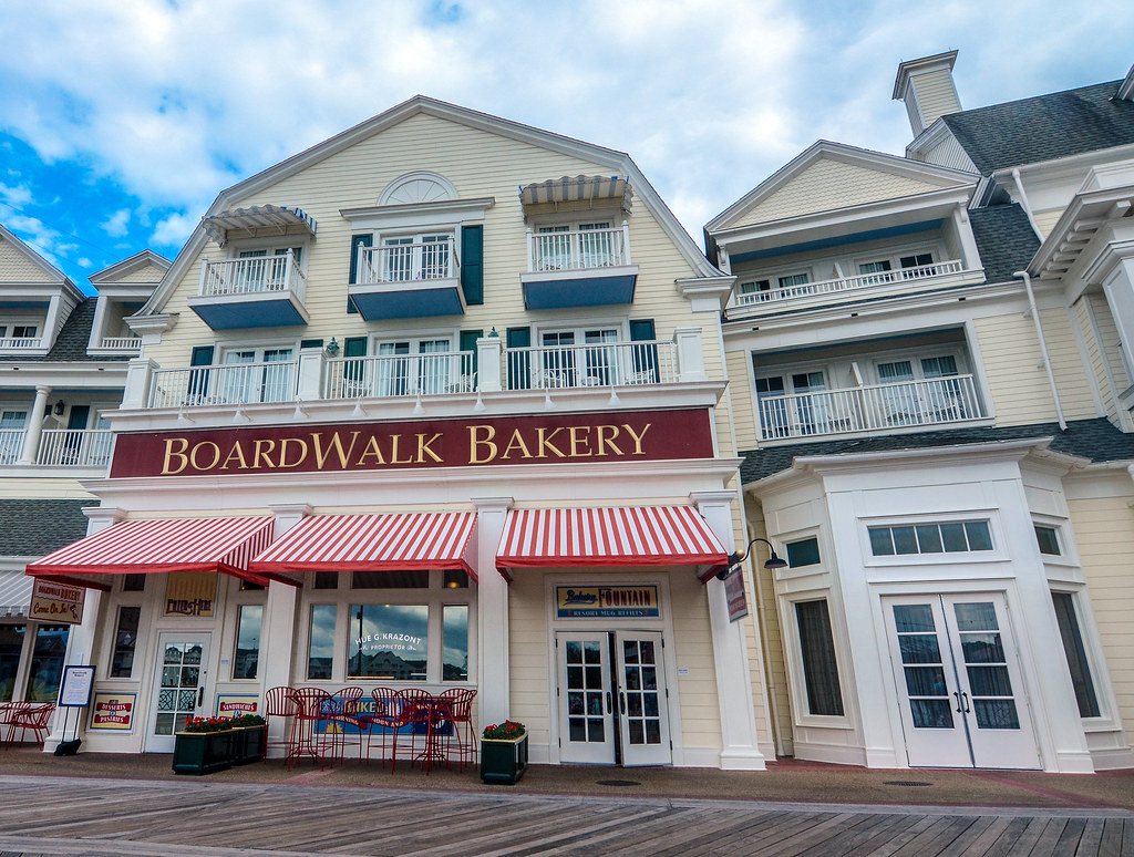 Boardwalk Bakery facade