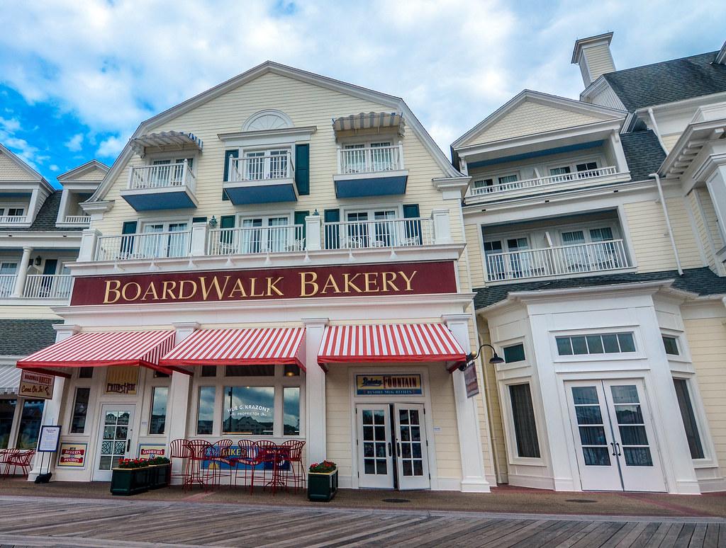 Boardwalk Bakery facade