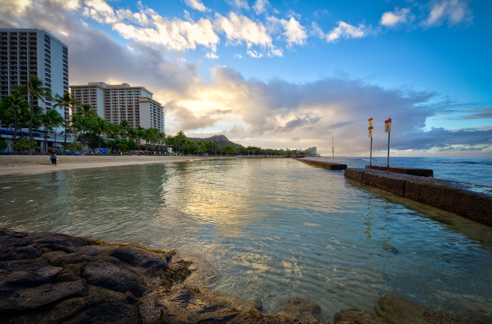 Morning in Waikiki