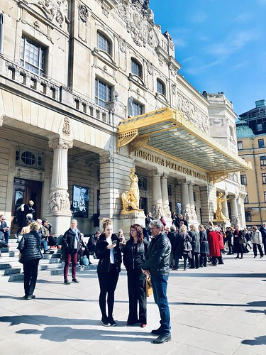 stockholm and suburbs, april 2019 - dramaten, stockholm
