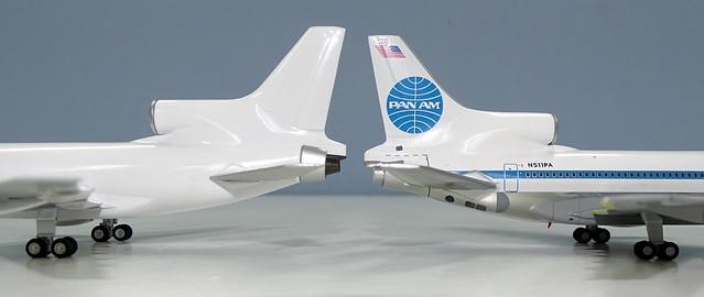 Lockheed L-1011 Tristar 500 NG vs Gemini Jets