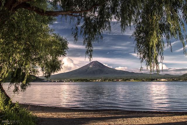 Mt. Fuji from Lake Kawaguchi - Kawaguchiko (Japan)