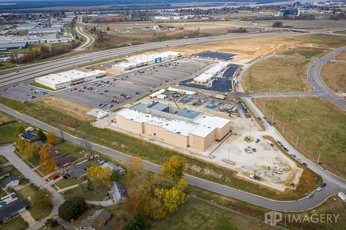 development commons cinema theater malco owensboro aerial hwy54 gateway construction kentucky usa