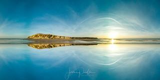 coucher de soleil sur les falaises du Cap-blanc-Nez   by jeje62