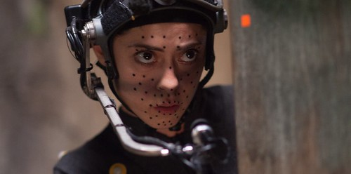 rosa-salazar-in-her-motion-capture-suit-for-alita-battle-angel | by tiffanyyongwt