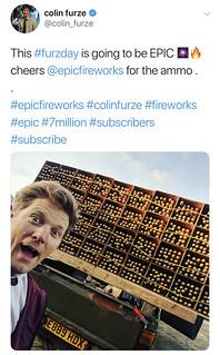 #COLINfurze #EPICfireworks #7M | by EpicFireworks