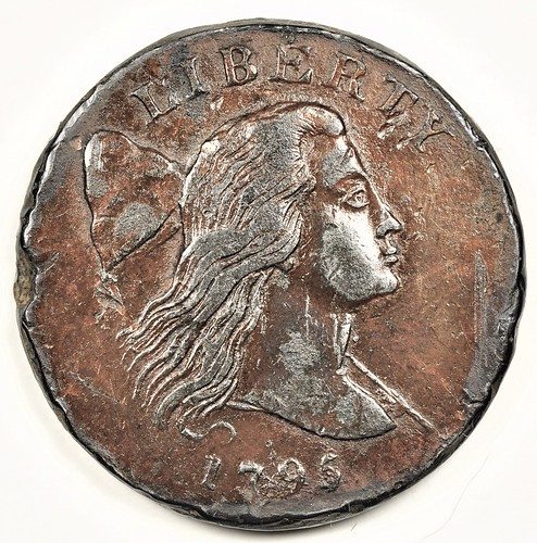 Electrotype S80 Jefferson Head cent obverse | by Numismatic Bibliomania Society