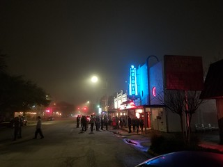 Foggy Night @ Heights Houston