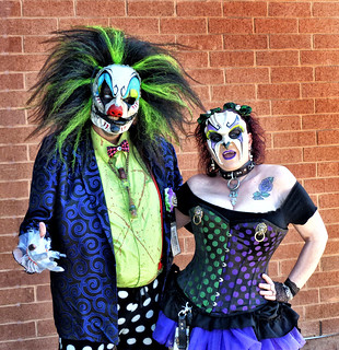 Cute couple at the HorrorHound Weekend