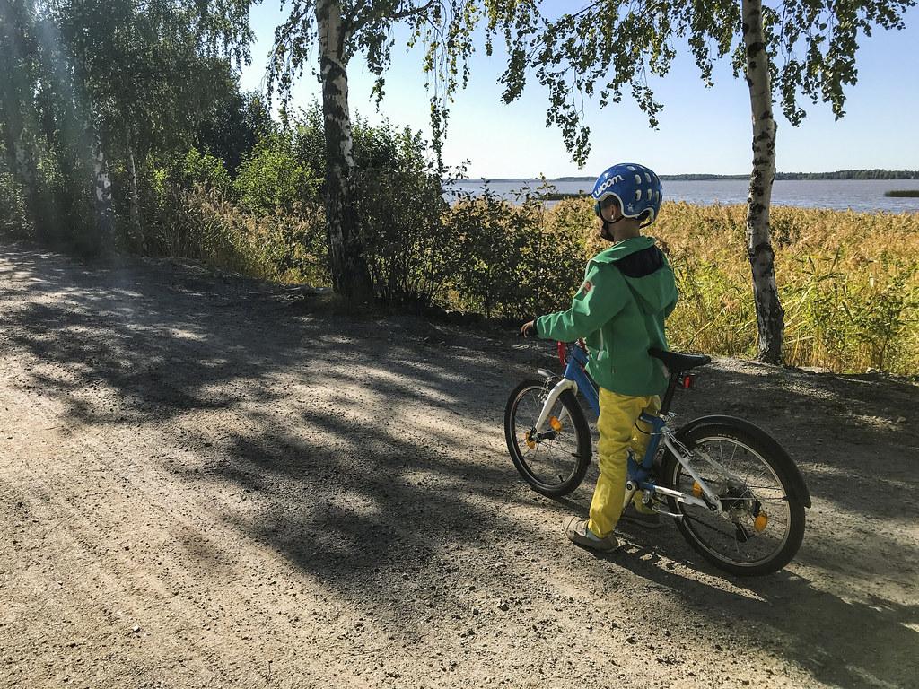 Summer cycling in Vaasa