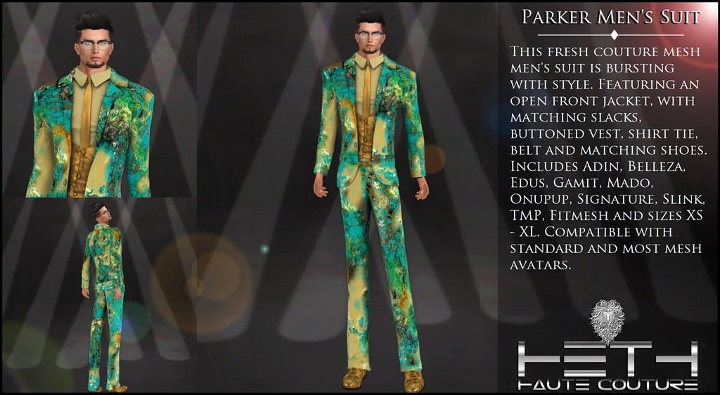 HHC - Parker Men's Suit POSTER - TeleportHub.com Live!