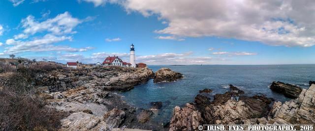 Portland Headlight. Cape Elizabeth, Maine