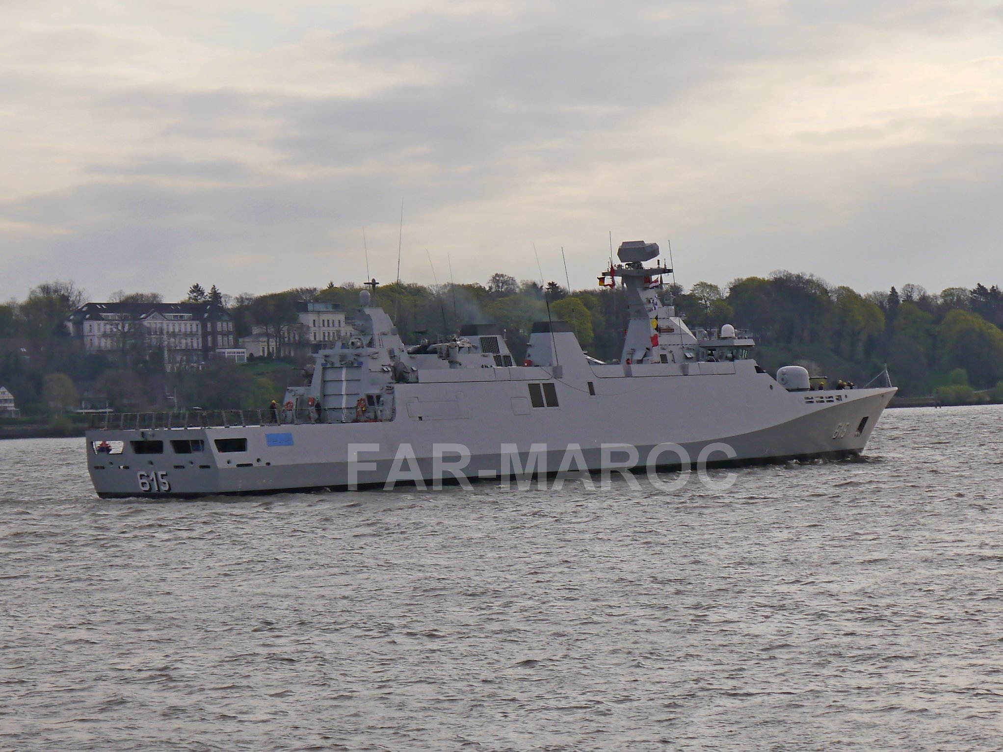 Royal Moroccan Navy Sigma class frigates / Frégates marocaines multimissions Sigma - Page 25 46679220525_f77b064836_o