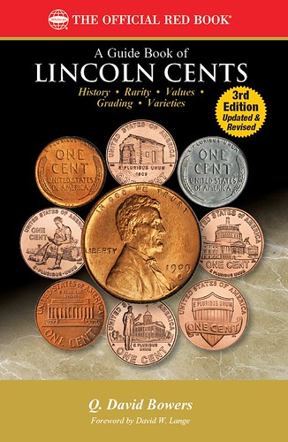 A Guide Book of Lincoln Cents rd edition book cover | by Numismatic Bibliomania Society