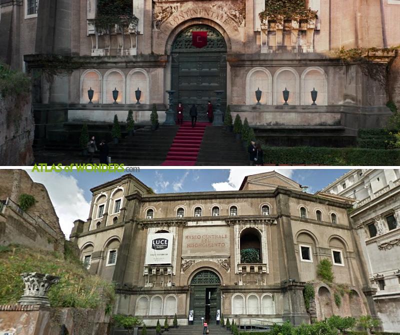 John Wick Hotel in Rome